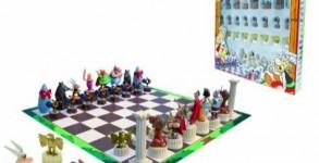 06adba7ae4ef6 Xadrez do Asterix. As peças de cada jogador são diferentes