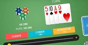 Novas mesas Poker Texas