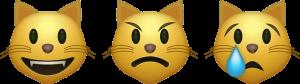 emojis gatos