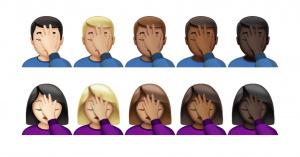 emojis cor